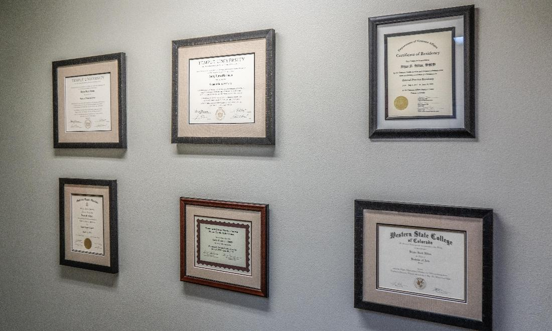 Certifications at Summit Dental Group in Dillon, CO